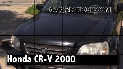 2000 Honda CR-V EX 2.0L 4 Cyl. Review